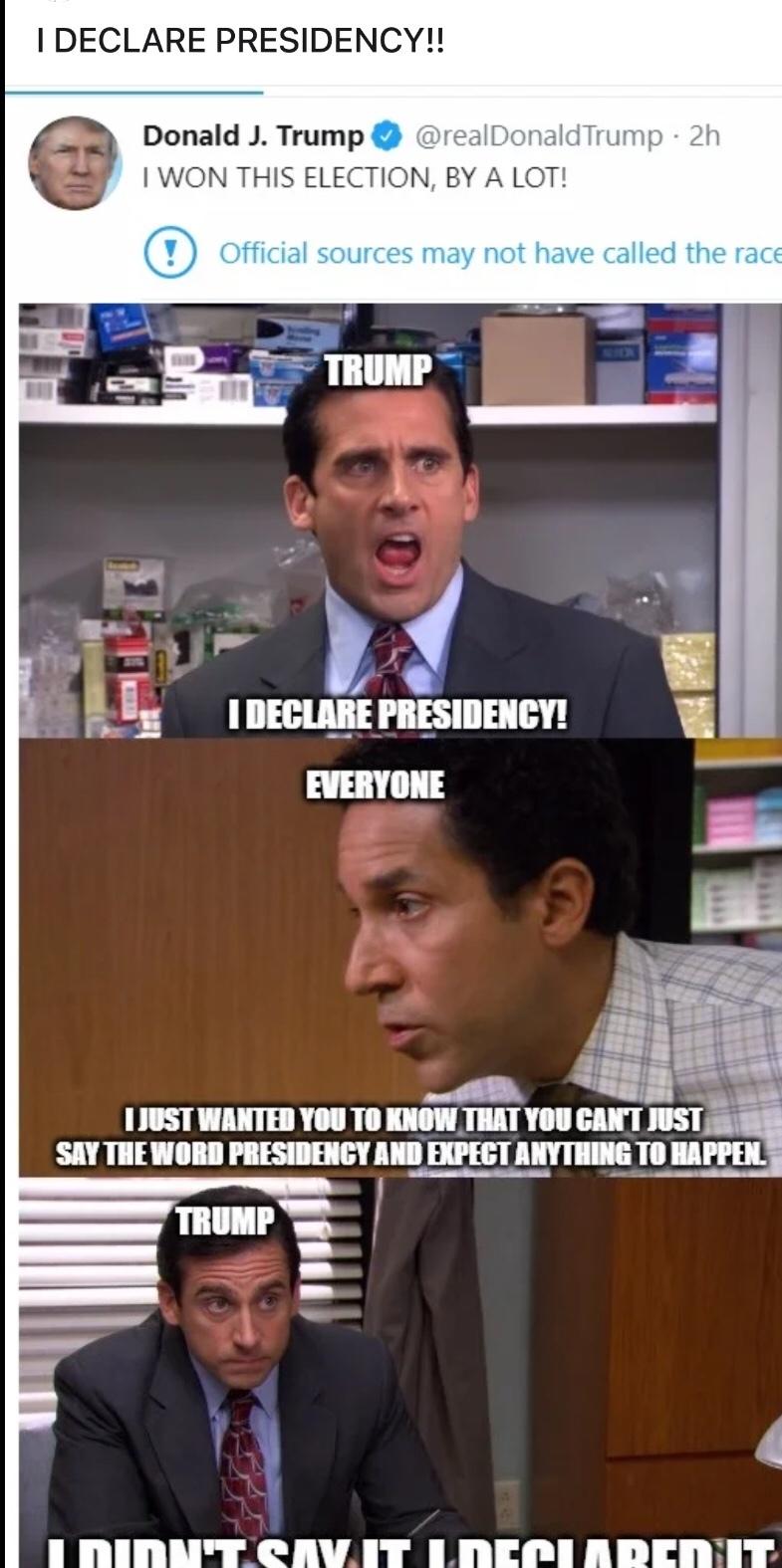 dump trump - meme