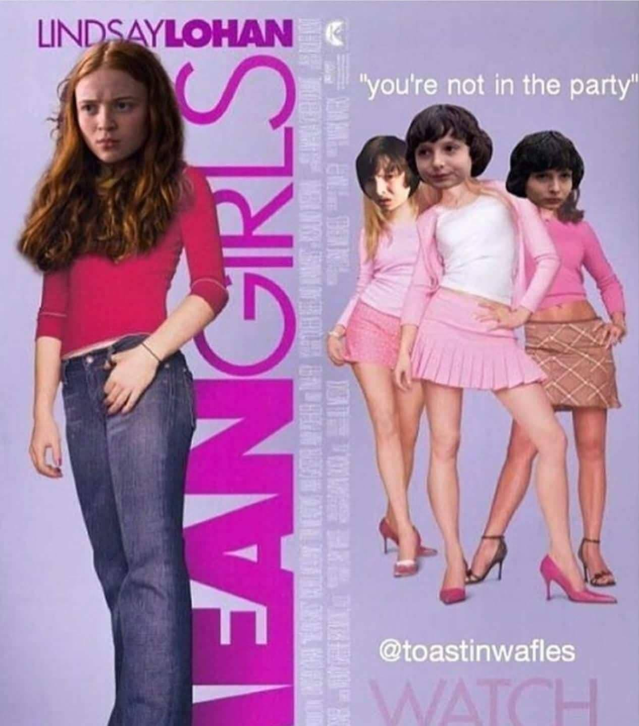You cant sit with us - meme
