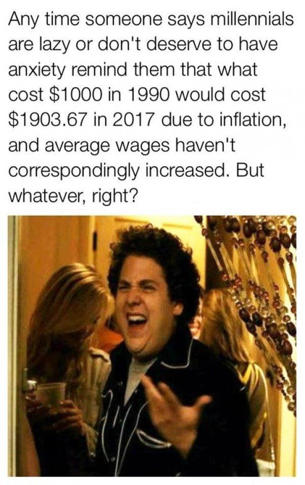 Millennials - meme