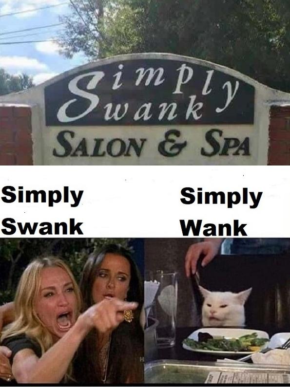 Simply Swank - meme