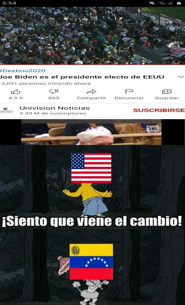 Pobres los veenzolanos que imigraron para alla, el socialismo los persigue - meme
