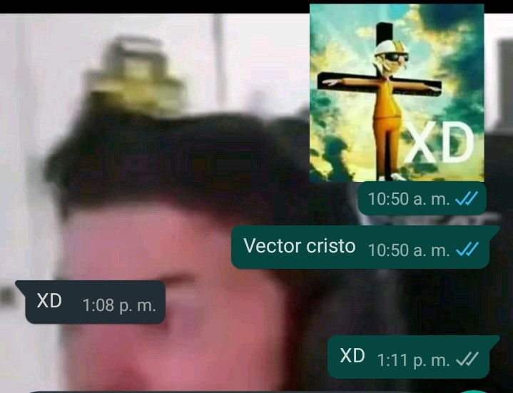Vector cristo - meme