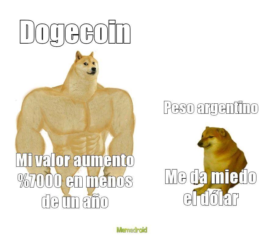 Inviertan en criptomonedas o saquenme de Latinoamérica - meme