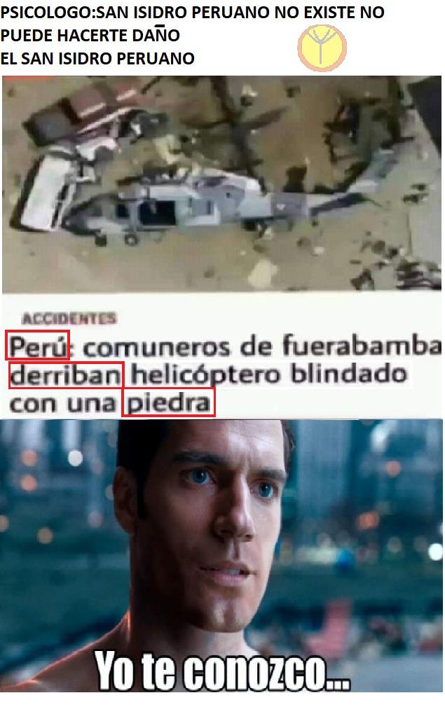 Fue San Isidro - meme