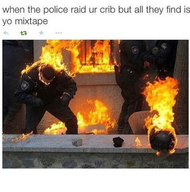 they thought they needed cops, but they really needed the fire department. - meme