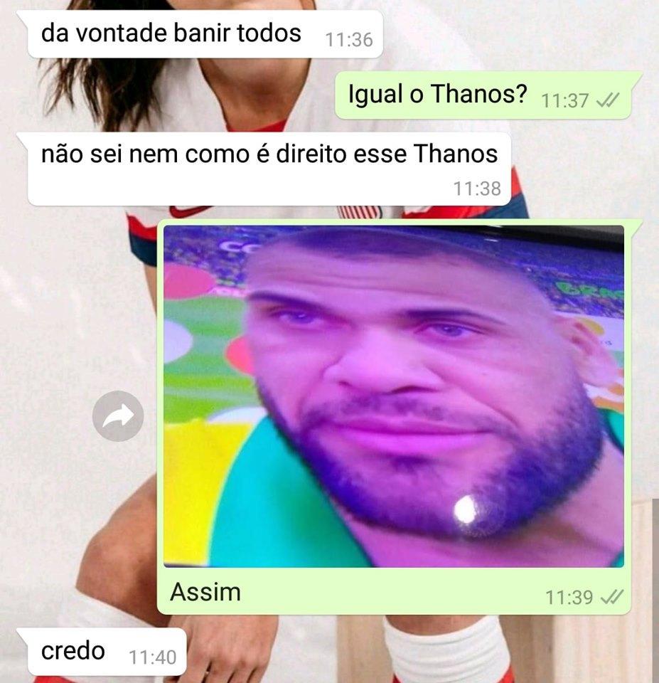 Thanos Alves - meme