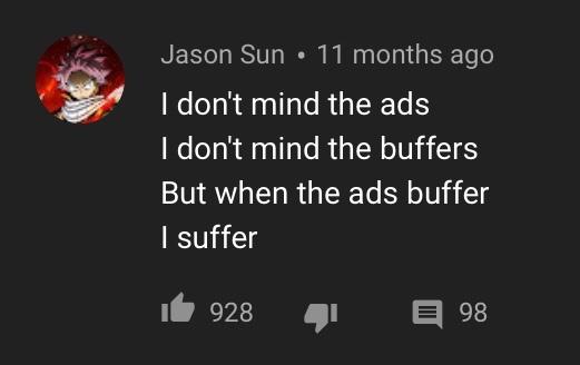 when they buffer i suffer - meme