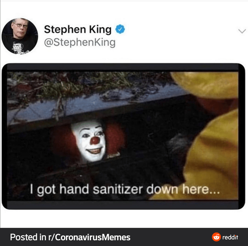 hand sanitizer - meme