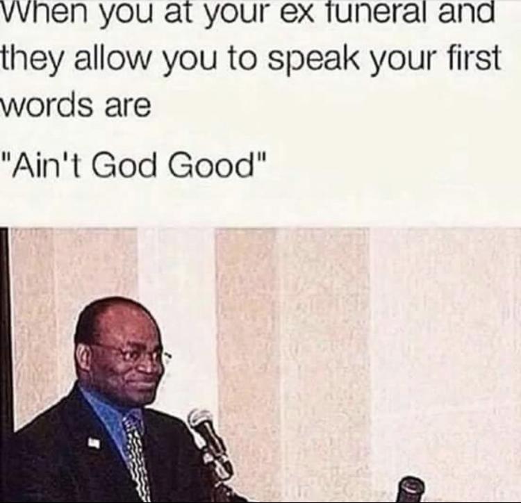 God is good - meme