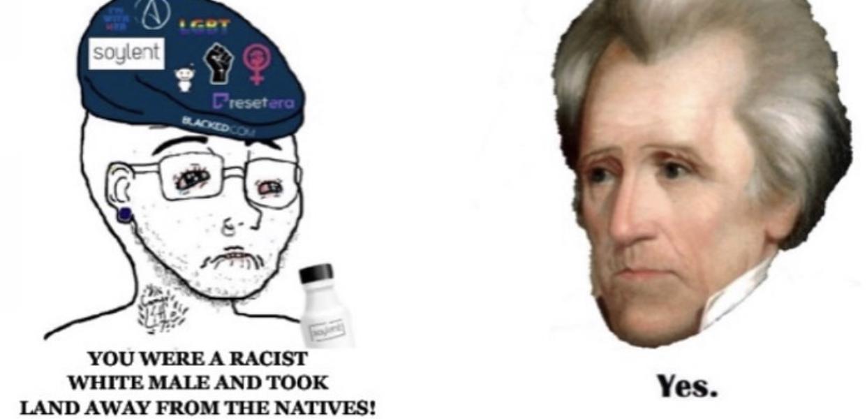Andrew Jackson - meme