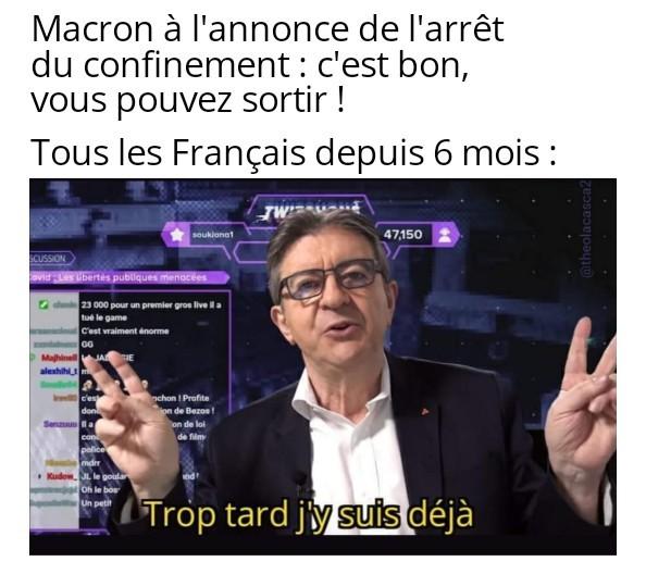 Melenchon TV - meme