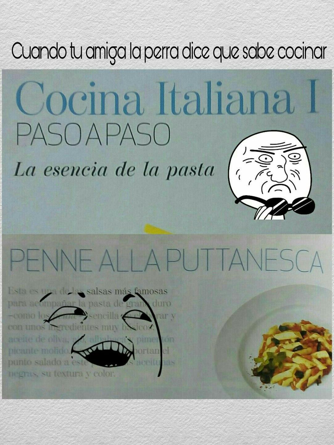 Los italianos son unos loquillos - meme