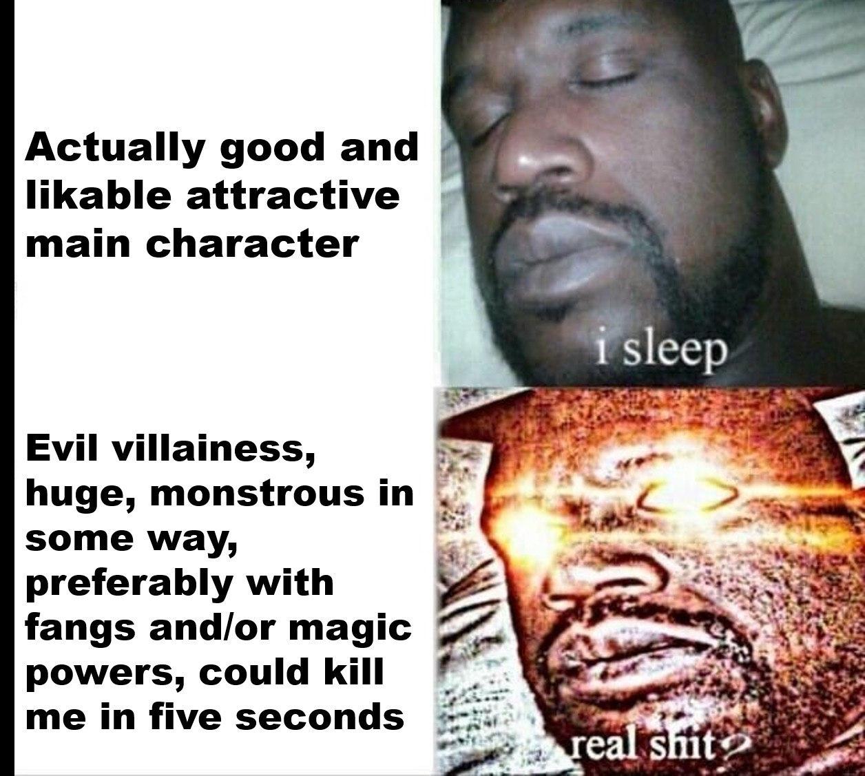 I WOKE - meme