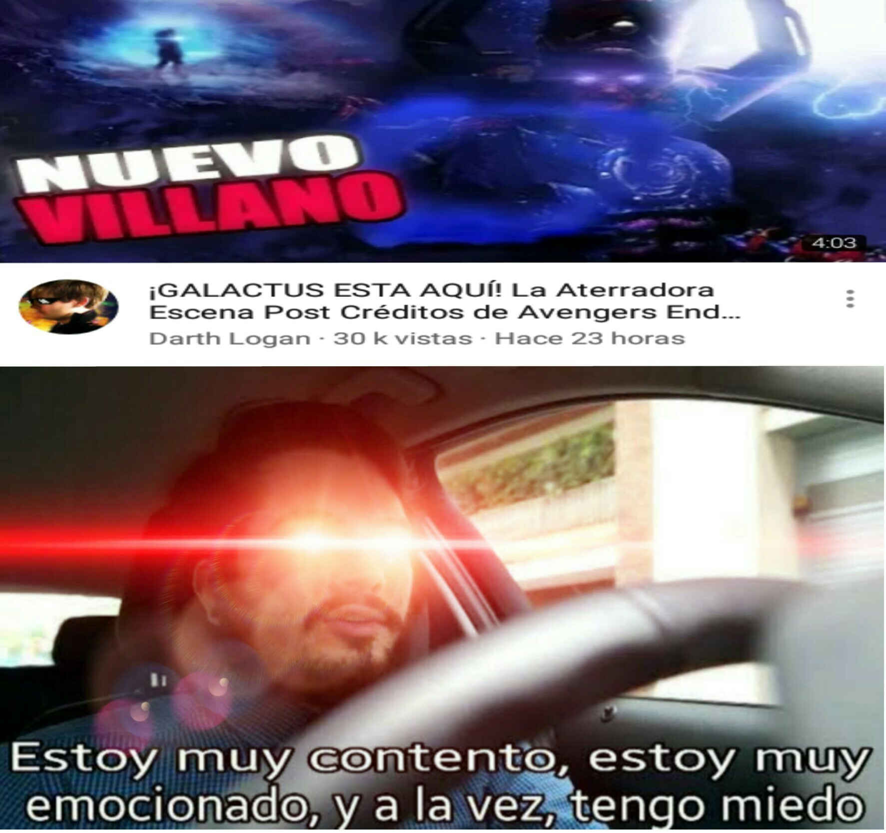 CTM EL GALACTUS WEON - meme