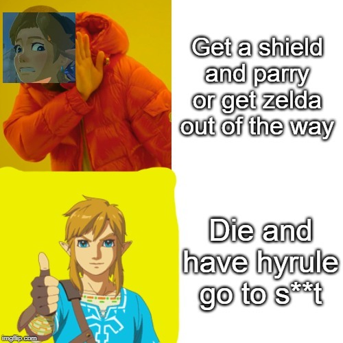 Why Link?! - meme