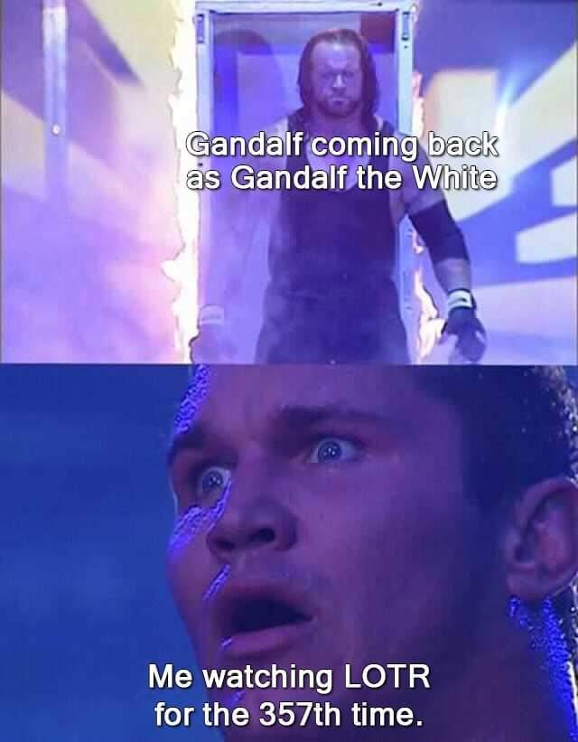 Gandalf le glis - meme