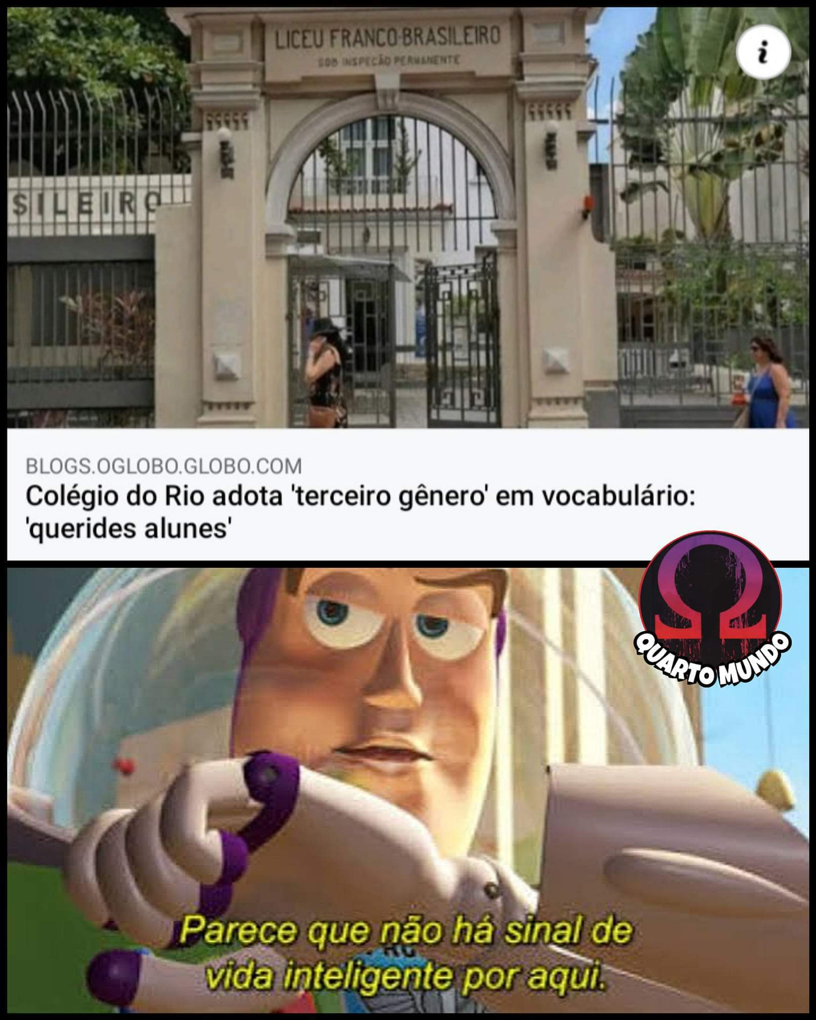 Escola do anarquer - meme