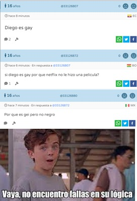 tiene razon pero aun asi diego es gay - meme