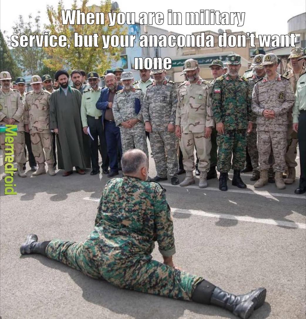 anaconda is life - meme