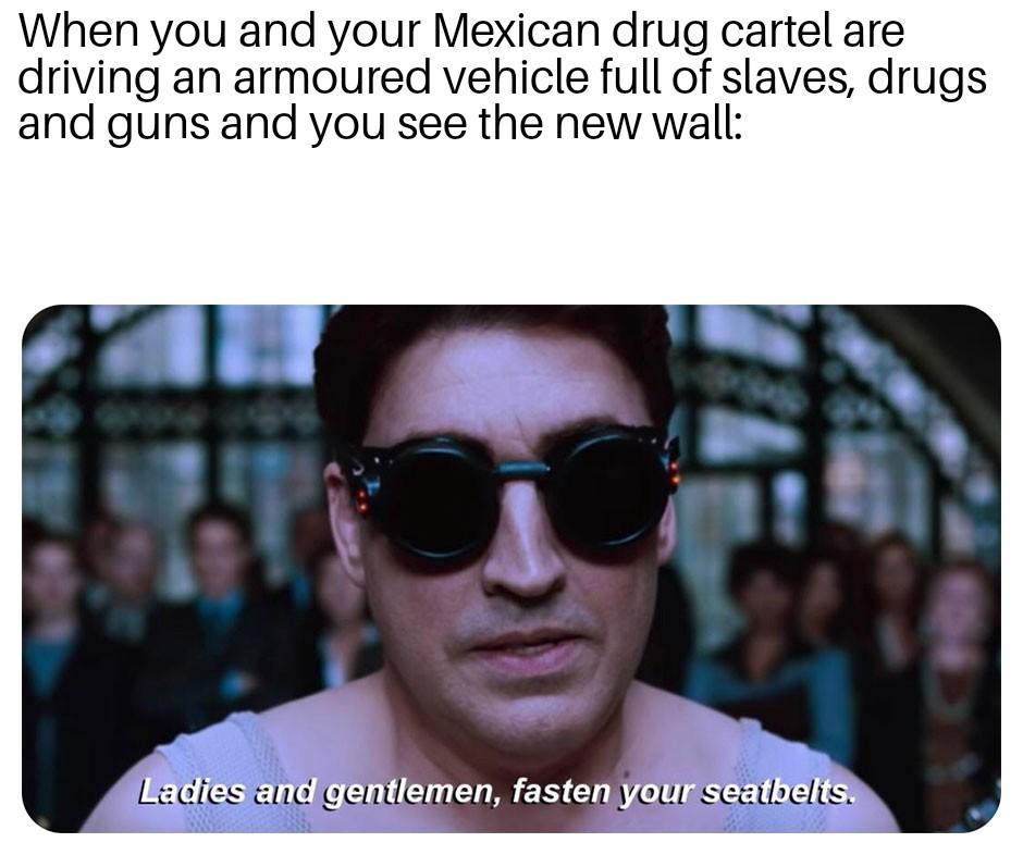 Let's go get dem gringos - meme