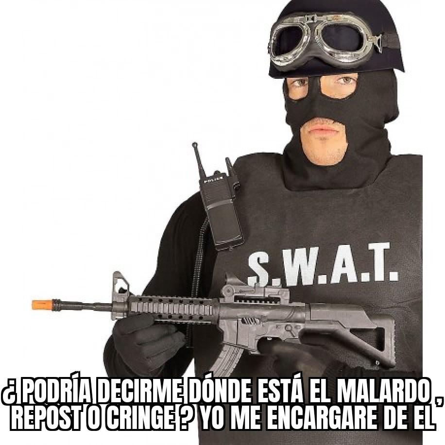 Seguridad Wazowski Antimierda Tercermundista o S.W.A.T - meme