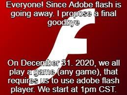 Adobe Flash Player - meme