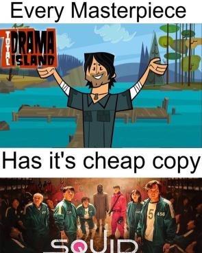 Drama total - meme