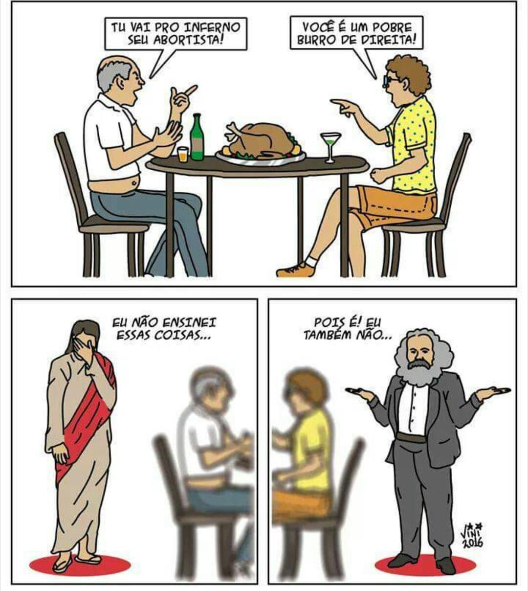 Jesus=Marx - meme