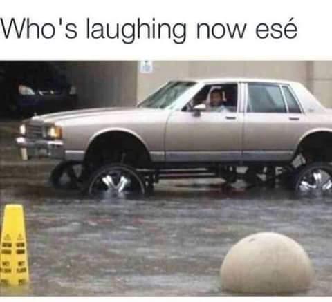 Damn no shit...looks like hes got tha last laugh - meme