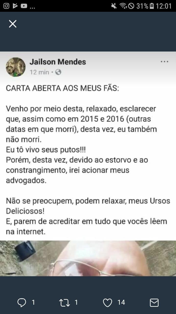 ERA MENTIRA!!! - meme