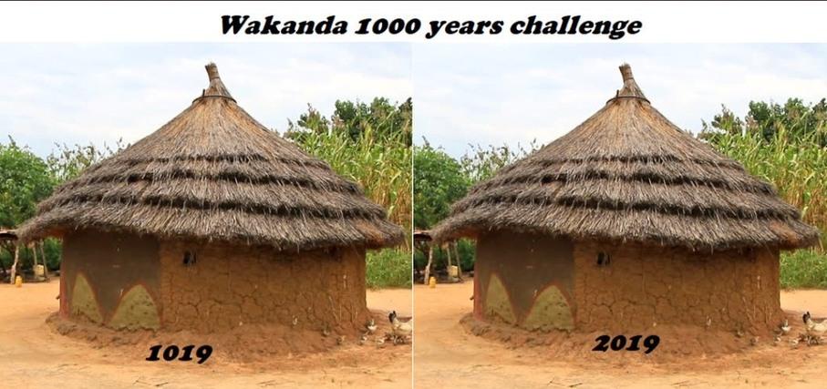 1000 years challenge Wakanda édition - meme