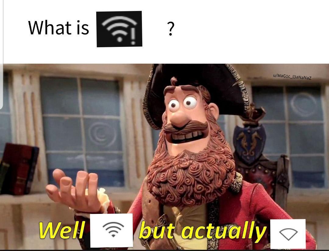 Connected, no internet - meme