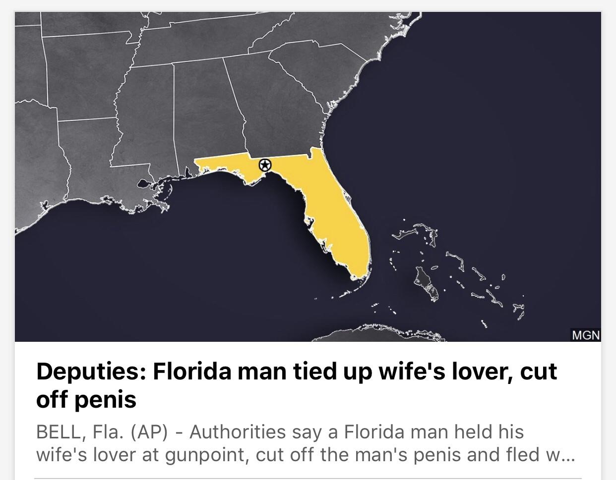 Florida man... - meme