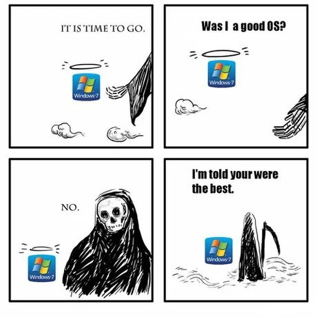 Windows 7, the Best - meme
