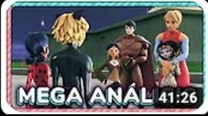 Mega anal - meme