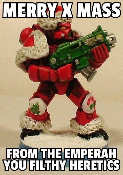 Warhammer Xmas! - meme