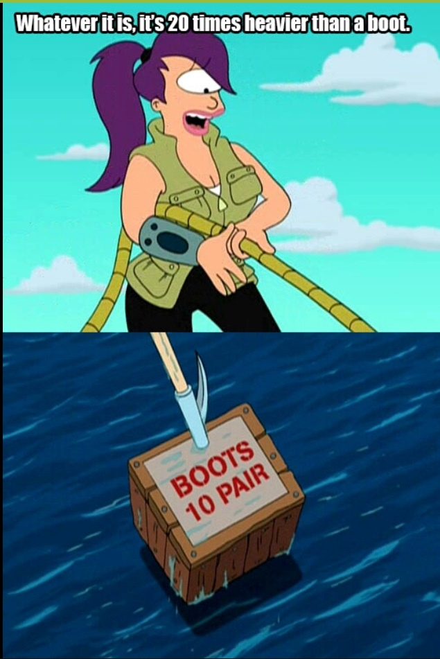 it's over 10 boots - meme