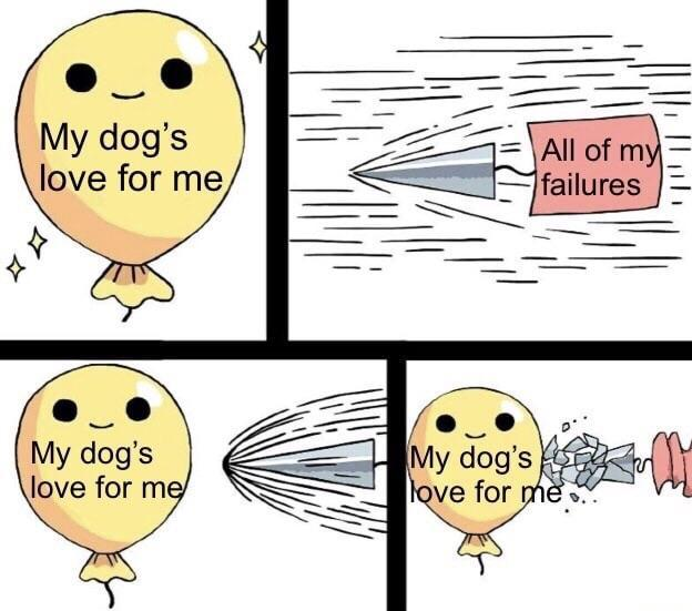 Dogs are the best creatures on Earth - meme