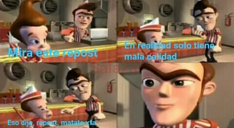 Mala calidad aproposito - meme