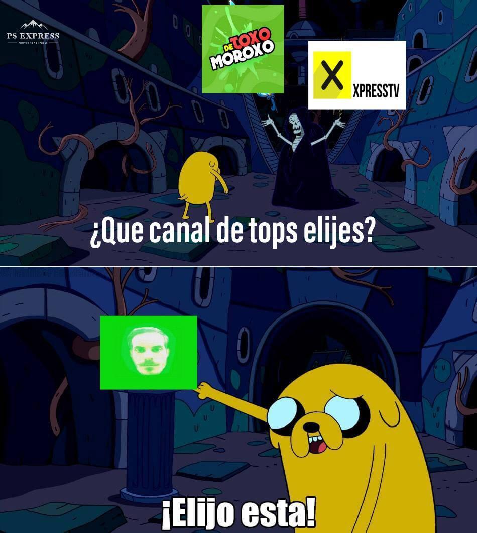 """Desde canales falsos con mi logo hasta publicaciones sobre mi posible """"regreso"""",bienvenidos a Doc Tops - meme"""