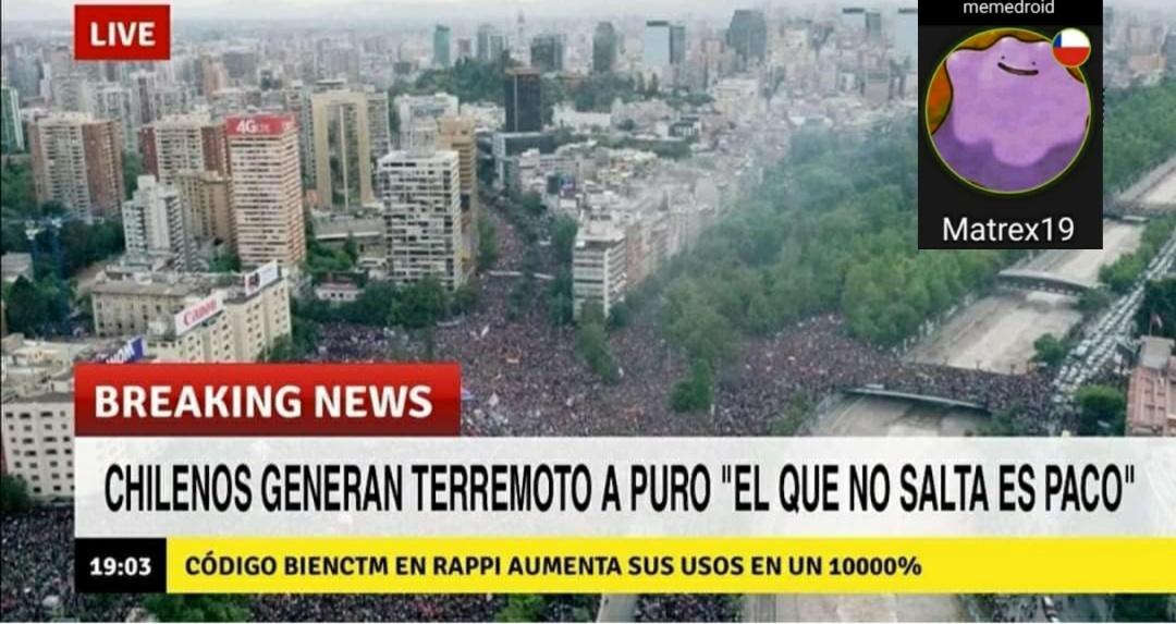 Chile  ahora - meme