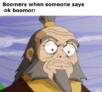 Ok boomer - meme