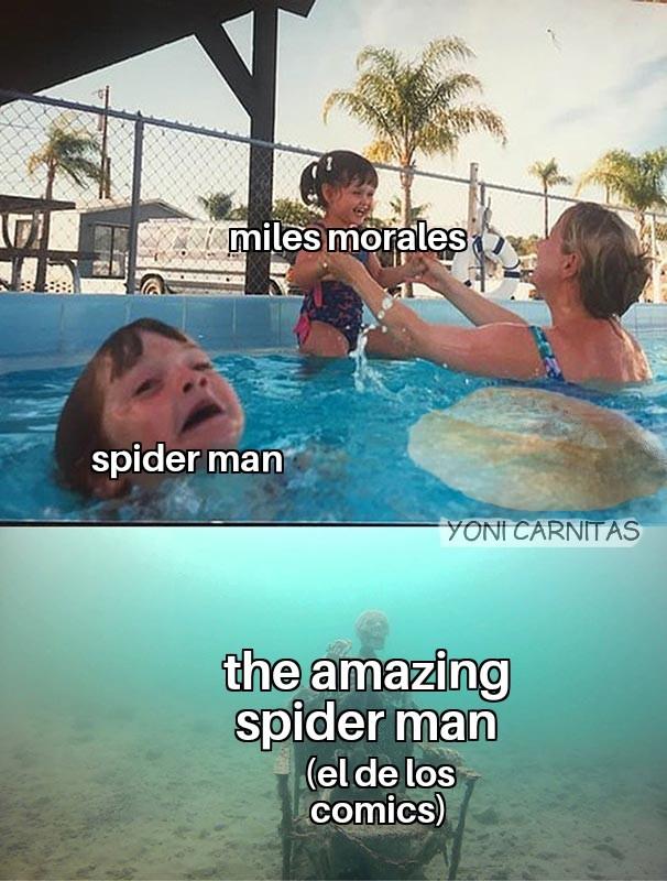 Marvel y los fans al chile - meme