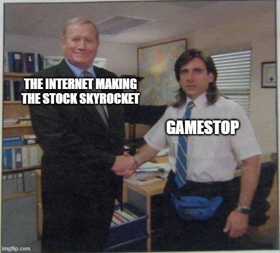 Buy Gamestop - meme
