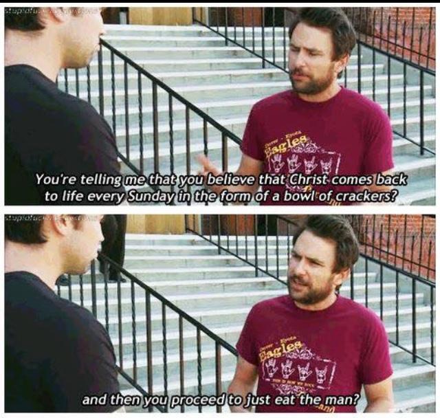 Charlie makes sense - meme