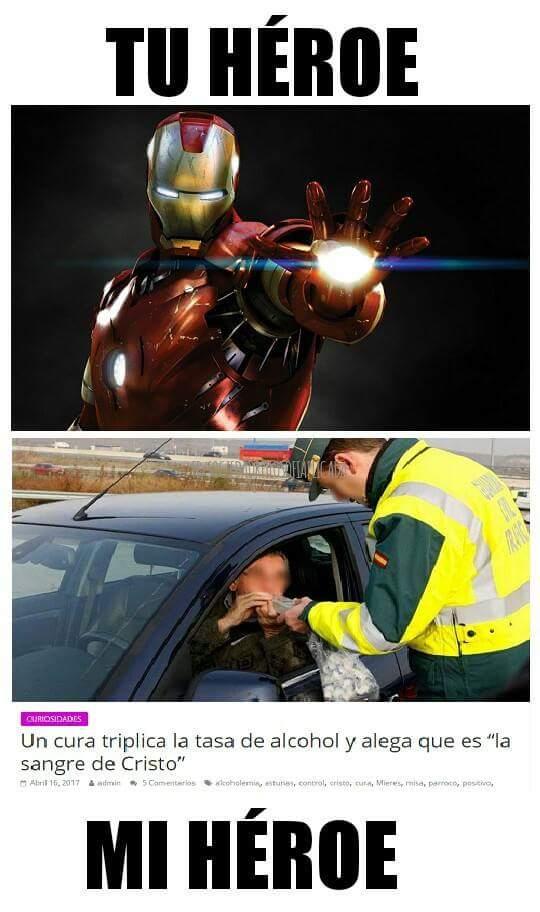 no todos los heroes tienen dinero :,v - meme
