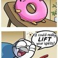 Donut suicide