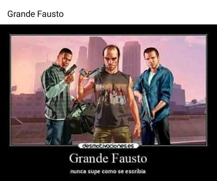 Grande Fausto - meme