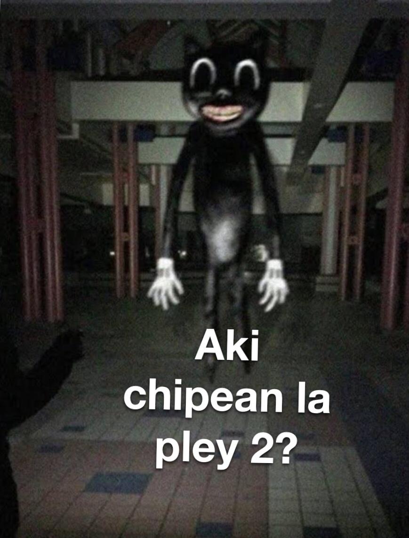 Aki chipean la pley 2? - meme