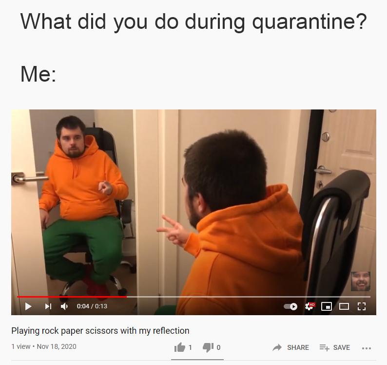 Desperate times require desperate solutions - meme